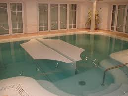 In Door Pool Indoor Outdoor Automatic Energy Saving Pool Covers By Pool Cover