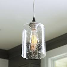 Pendant Light With Shade Glass Pendant Lights Intended For Shade Idea 6 Sooprosports