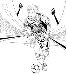 soccer coloring pages messi glum