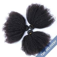 mongolian hair virgin hair afro kinky human hair weave natural color mongolian afro kinky curly virgin human hair weave 3