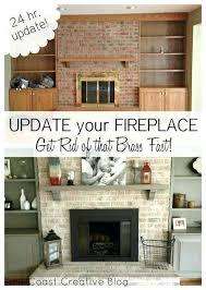 Brick Fireplace Paint Colors - brick fireplace paint color ideas kitchen living room open floor