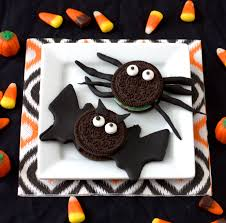 no bake bat and spider cookies experimental epicurean