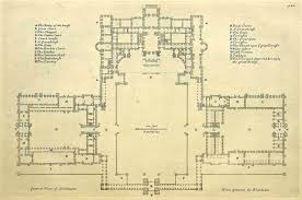 Houses Of Parliament Floor Plan by General Floor Plan Of Blenheim Palace England Blenheim Palace