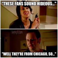 Cubs Fan Meme - a little version of jake from state farm about cubs fans lol