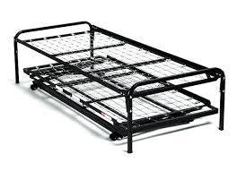 trundle bed frames only pop up trundle bed frame complete pop up