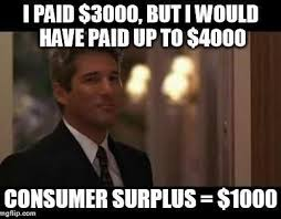 Econ Memes - richard gere s consumer surplus movies pinterest