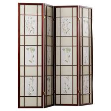 Panel Shoji Screen Room Divider - decorations panel screen room divider 4 panel room divider 4