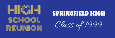 high school reunion banners 164 png