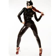 Latex Halloween Costumes 10 Size Catwoman Costume Ideas Batgirl