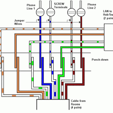 adorable basic house wiring diagram for phones doorbells and
