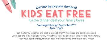 ihop black friday deals moms take a break from the kitchen kids eat free at ihop u2013 miss