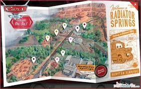 map of california adventure travel disney s california adventure cars land rides and tips