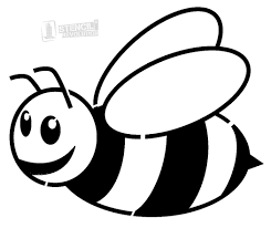 bee clipart 15 pictures of black and white bees ideas black and white pictures