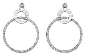 piaget earrings piaget 18k white gold diamond earrings g38px700 on tradesy