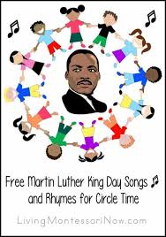martin luther king i a testo free martin luther king day songs and rhymes for circle time