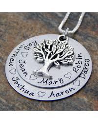 kids names necklace shopping special family tree necklace personalized mothers