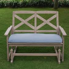 Lifetime Glider Bench Patio Rocking Chairs U0026 Gliders You U0027ll Love Wayfair
