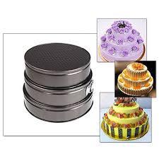 cake maker 3pcs shape baking mould pastry cookie cake maker springform