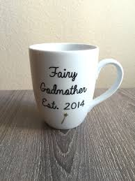 godmother mugs fairy godmother mug disney mug pregnancy announcement mug