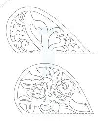 paper cutting designs simple paper cutting templates