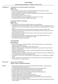 resume tips and exles nvh engineer resume sles velvet