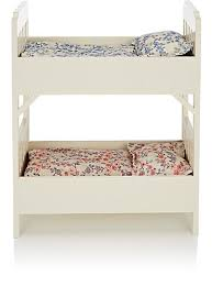 A Frame Bunk Bed Maileg Small Wooden Bunk Bed With Bedding Barneys New York