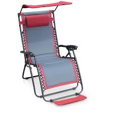 Reclining Lounge Chair Padded Zero Gravity Reclining Lounge Chair 649233 Chairs At