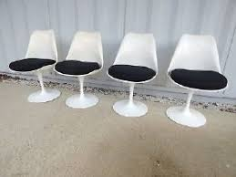 chaises tulipe chaises knoll tulip d occasion