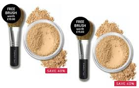 bare minerals fan brush bareminerals spf15 original foundation 8g with free flawless