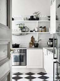 neat monochromatic kitchens looks gorgeous in black and white but