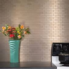Aspect Metal Backsplash Tiles Aspect - Metal backsplash