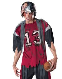dead zone zombie football player costume by incharacter