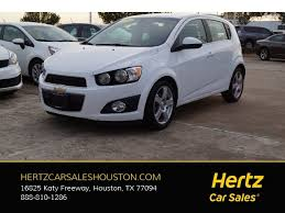 used chevrolet sonic for sale in houston tx edmunds