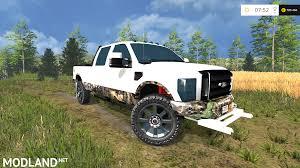 Ford Camo Truck - ford f 250 camo v 2 0 mod for farming simulator 2015 15 fs ls