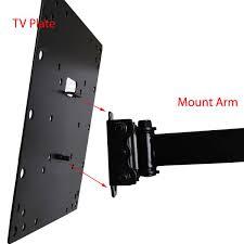 Tv Wall Mount Articulating Tv Wall Mount Tilt Swivel For Vizio D43 C1 Rca