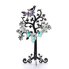 necklace jewelry display stand images Jewelry birds metal tree necklace earring display stand holder jpg