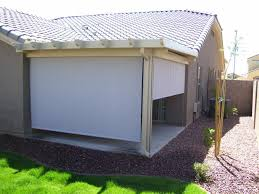 patio cover rollers glf home pros roll down for cepagolf ideas
