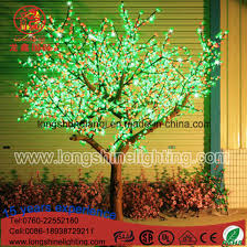 led landscape tree lights china led lighting emulational willow cherry landscape tree light