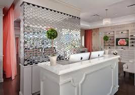 tufted salon reception desk 136 best reception area images on pinterest beauty bar hair