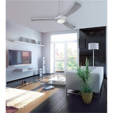 7800200 techno 52 inch brushed aluminum indoor led ceiling fan