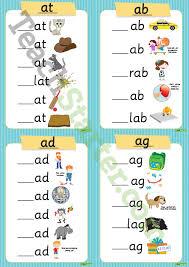 consonant vowel consonant cvc words teaching resource u2013 teach