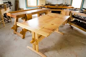 How To Build A Trestle Table Building The Collapsable Trestle Table With Will Myers