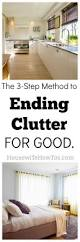 Clutter Ending Clutter For Good An Easy 3 Step Method