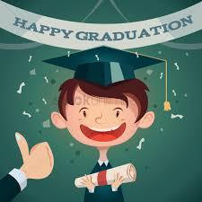 graduation poster happy graduation poster vector image 1514791 stockunlimited