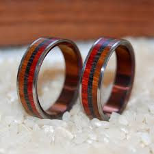 old wedding rings images Minter richter ancient wood rings handmade wedding rings jpg