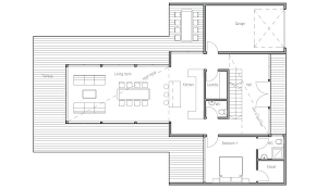 house plans one floor contemporary homes floor plans small modern house plans one floor