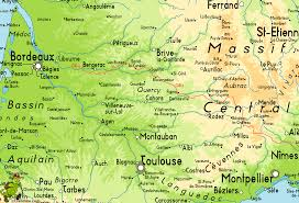 Dordogne France Map by Gr6