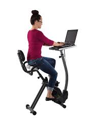 amazon com wirk ride exercise bike workstation and standing desk