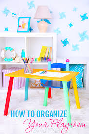 how to organize your house how to organize your playroom sarah titus