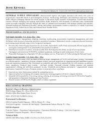 Supply Chain Resume Format Logistics Specialist Resume Resume Ideas